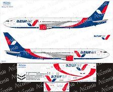 Boeing 767-300ER 1/144 AzurAir Decal by Ascensio 763-015