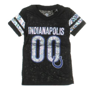 Little Girls 4-7 NFL Indianapolis Colts Burnout Tee, Size Medium 5/6, $25.00