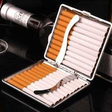 Pocket Cigaret Tin Box/Case Leather Slim Cigarette/Roll Up Holder Protector LH