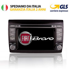 "AUTORADIO 7"" ANDROID SPECIFICA PER FIAT BRAVO 2007/08/09/10/11/12 DVD GPS"