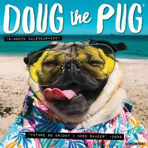Doug The Pug Calendar 2021