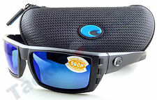 Costa RFL01OBMP Rafael Sunglasses 580P Blue Mirror Lens Blackout Frame