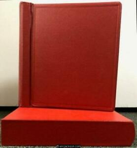 ELBE Roosevelt Red Binder, Slipcase and Pages