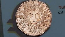 5 euro 2018 Cu Austria Autriche Österreich Löwenkraft leone lion león leão лев