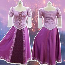 Princess Rapunzel Women Dress Costume Adult Halloween Cosplay Party Clothes New