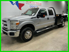 New Listing2015 Ford F 350 Xl 4x4 Diesel Dually Flat Bed Bluetooth Touch Scre