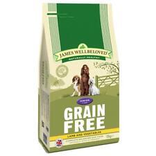 james wellbeloved grain free senior lamb and vegetables dog food 10kg