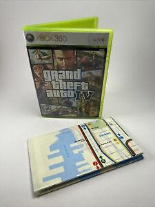 Grand Theft Auto IV 4 (Microsoft Xbox 360, 2010) CIB, Complete w/Manual, TESTED