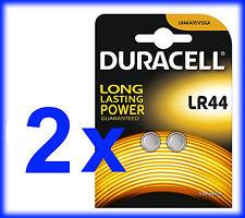 4 X Duracell Lr44 A76 V13ga Button Cell Batteries
