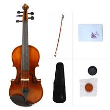 5String Electric Violin Fiddle 4/4 Full Size Solid Maple Spruce hand made PRO