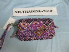 NWT Vera Bradley Iconic RFID All In One Crossbody In Dream Diamonds Pattern