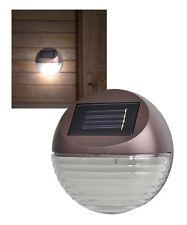 Lampada solare da giardino con luci led- Lampada da muro a led ad energia solare