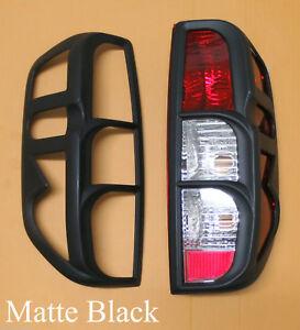 Surround Cover Rear Tail Light Matt Black For Nissan Frontier Navara D40 05-14