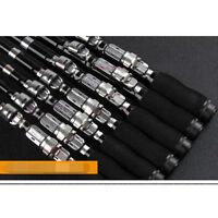 Aluminum Alloy Portable Combo Mini Pocket Pen Fishing Rod Pole Line W/ Reel Set