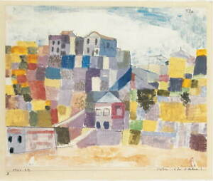 Paul Klee Sicily Close To S. Andrea Giclee Art Paper Print Poster Reproduction