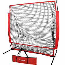 5'x5' Portable Baseball Softball Practice Batting Training Net w/ Bag EZ Setup