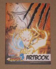 Naruto Shippuden Ultimate Ninja Storm 3 Artbook officiel nouvelle Promo Rare limitée