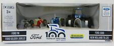 1:64 ERTL 2017 *100 YEARS OF TRACTOR* FORD & NEW HOLLAND *4-PIECE SET* NIB!