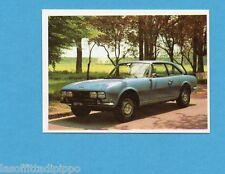 AUTO FLASH-COX anni '70-Figurina n.81- PEUGEOT 504 COUPE' -NEW