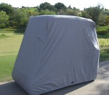 Golf cart 2 passenger storage cover for EZGO, Club car and Yamaha in Grey