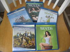 Weeds Seasons 1-5 Blu-ray DVD Lot - Like New - Watched Once - Lower Price!