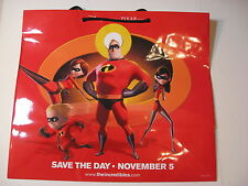 "Disney The Incredibles- Large Gift Bag 16"" x 14"""