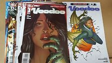 from Jla comic lot Voodoo new 52 0 1-12 nm bagged