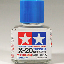 TAMIYA 80030 X-20 Enamel Paint Thinner 40ml PLASTIC MODEL KIT CRAFT TOOL NEW