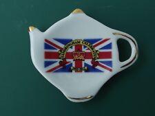 Tea bag holder plate - Sandringham diamond jubilee 2012