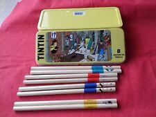 Tintin 8 Crayon Pencil Box 2011