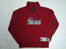 NEW ENGLAND PATRIOTS WOMENS JACKET FULL ZIP FRONT  RED M, L or XL