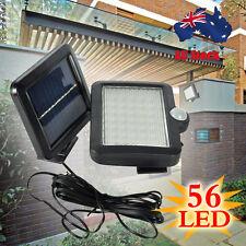 56LED Solar Snesor Outdoor Garden Motion Sensor Security Flood Light Spot Lamp