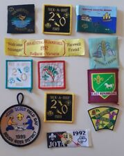Scout, Cubs, Girl Guide and Brownies badges x 12