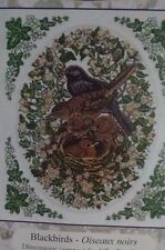 DMC Blackbirds Counted Cross Stitch Kit Baby Birds in Nest Moderate Level