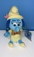 "9"" Smurfs The Lost Village Movie Smurf Lily Stuffed Plush Character w/ Tag Jakks"