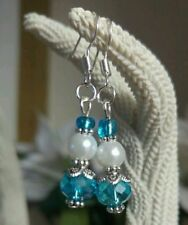 Silver Plated Pearl (Imitation) Costume Earrings