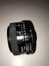 Tamron 02B Adaptall 2 28mm f2.5 prime lens