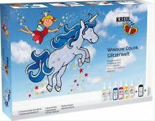 Kreul 42844 Glitzerwelt Fenster Farbe Set