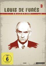 LOUIS DE FUNES COLLECTION 3 (Brust oder Keule, Der Querkopf u.a.) 3 DVDs NEU+OVP