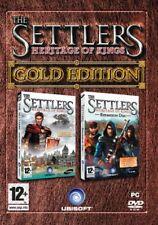 Los colonos: patrimonio de los Reyes Gold Edition Pc Nuevo Y Sellado Reino Unido Edtion