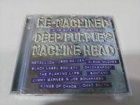 DEEP PURPLE RE-MACHINED A TRIBUTE TO DEEP PURPLE METALLICA IRON MAIDEN CD NUEVO