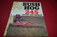 Brush Hog 245 Offset Disc Harrow Dealer's Brochure YABE10 ver2