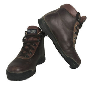 Vintage Vasque Hiking Boots Sundowner Men's Size 7 Gore-Tex 7936 Brown Leather