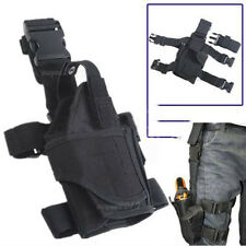 Adjustable Tactical Military Army Pistol Gun Drop Leg Thigh Holster Pouch Holder