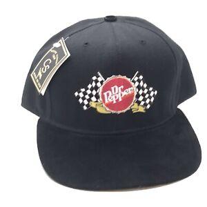 Dr Pepper Hat. NWT. Leather Visor.