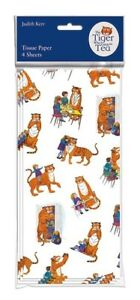 The Tiger Who Came To Tea Tissue Paper – 4 Pack 50 x 70 cm Luxury Gift Wrap