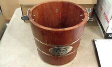 "7Ll74 Planter, Was Ice Cream Maker Bucket, About 12"" X 12"" X 12"", Good Condition"