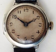 Gents Swiss 1920s SS 15J Watch with Tavannes Cyma 010 3 Adj Mechanical Movement