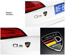 1pcs Wolfsburg Wolf Shield Badge Emblem Sticker FIT FOR VW MK7 MK6 MK5