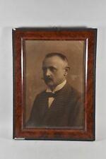 f92w31- Porträt eines Mannes, Fotodruck, verso datiert 1919